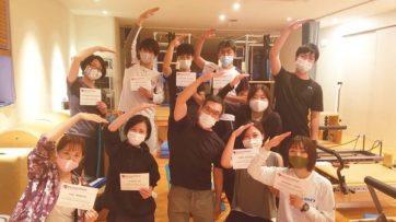 第5期 ビヨンドピラティス指導者養成コース ファウンデーションコース終了!!